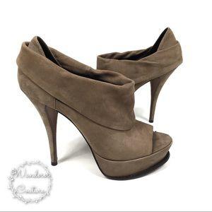 Elizabeth & James Plaform Stiletto Fold Over Heels